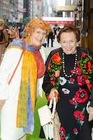 Dorothy Harman and Ann E. Bialkin by Julie Skarratt