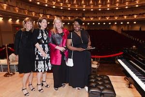Hillary Krevlin, Laura Blankfein, Tracy Chutorian Semler, and Suyapa Sanders by Julie Skarratt