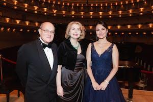 Peter Kimmelman, Sana H. Sabbagh, and Isabel Leonard by Julie Skarratt