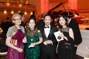 Emily K. Rafferty, Esti Choi, Patrick Kim, and Kyung Ah Park by Julie Skarratt