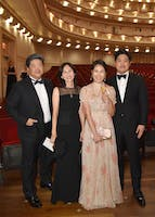Michael B. Kim, Kyung Ah Park, So Won Kim, and Michael J. Kim by Annie Watt