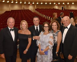 Dennis M. and Karen L. Nally, Sandro and Cathy DiNello, and Jill and Gregory Durant by Annie Watt
