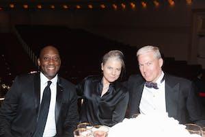 Roy Weathers, Leslie Maheras, and David Lohuis by Julie Skarratt