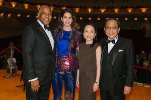 Robert F. and Hope Smith, and Celia and Silas Chou