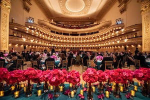 Audience at Carnegie Hall