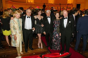 Cynthia D. Sculco, Clive Gillinson and Anya Deutsch, Thomas P. Sculco, and Susan W. and Elihu Rose