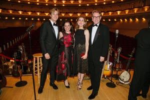Steele Cooper, Monique Lodi, Bernadette Hitt, and John Grisham