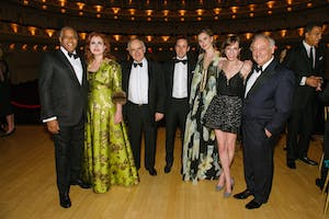 Robert F. Smith, Sana H. Sabbagh, Clive Gillinson, David S. Winter and Annelise Peterson Winter, Anya Deutsch, and Sanford I. Weill