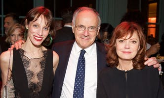 Anya Deutsch, Clive Gillinson, and Susan Sarandon (Photo by Julie Skarratt)