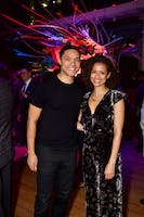 Trevor Noah and Gugu Mbatha-Raw (Photo by Julie Skarratt)