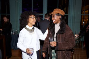 Esperanza Spalding and Little Simz (Photo by Julie Skarratt)