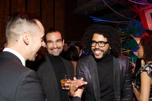 Javier Muñoz and Daveed Diggs (Photo by Julie Skarratt)