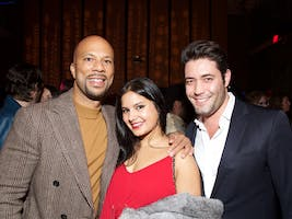 Common, Rohini Choudhury, and Jacob Zucker (Photo by Julie Skarratt)