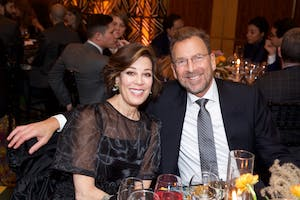 Peggy Siegal and Edgar Bronfman, Jr. (Photo by Julie Skarratt)