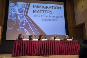 Immigration Matters: Jews, Other Immigrants and America