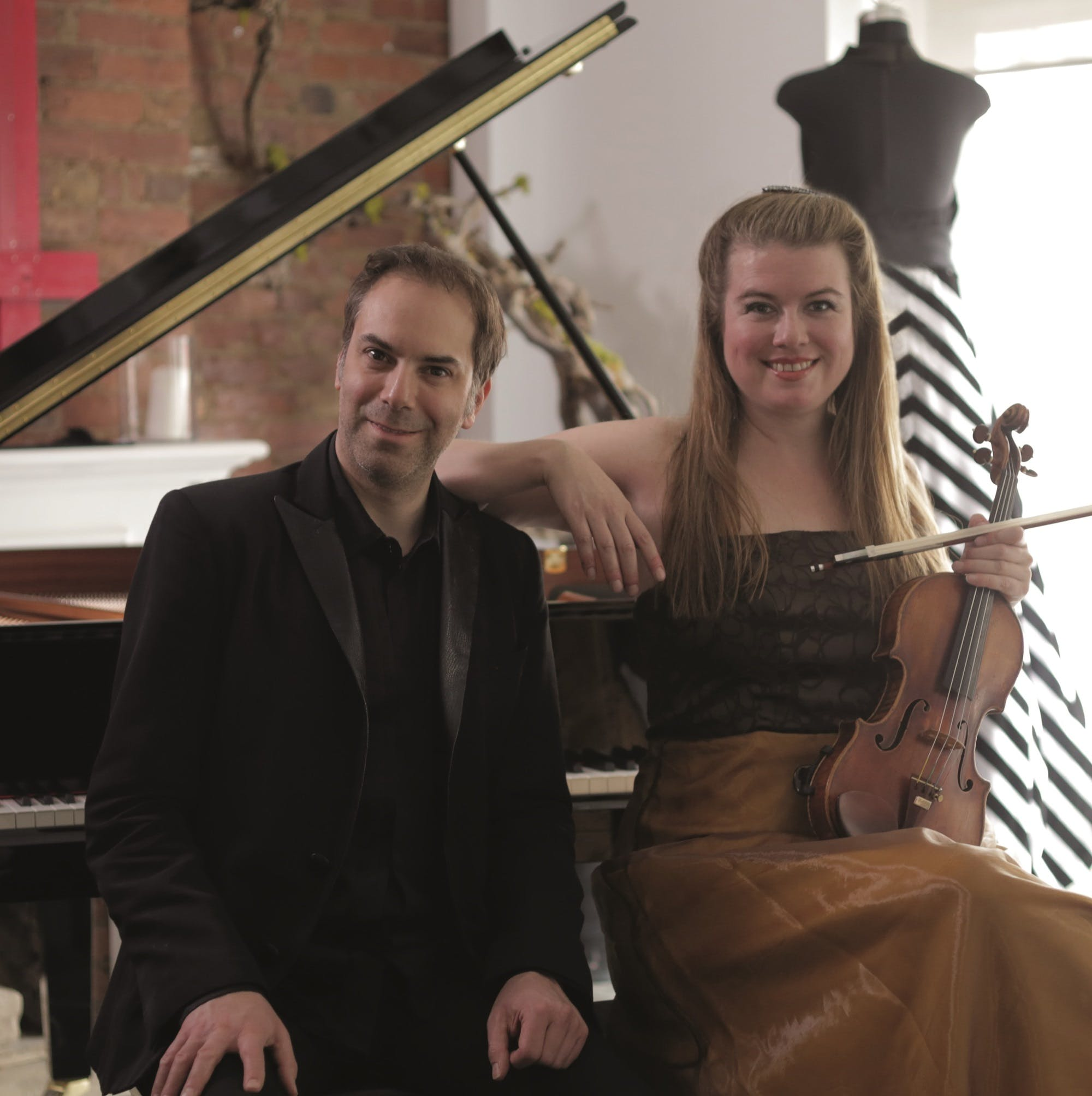 Lara St. John, Violin; Matt Herskowitz, Piano at Brooklyn Central Public Library