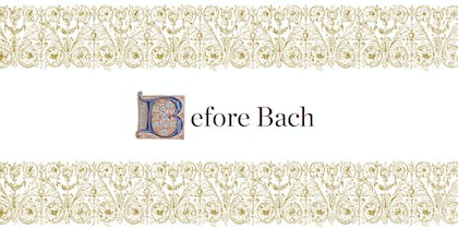 Before Bach header image